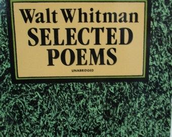 Walt Whitman Selected Poems - Paperback 1991