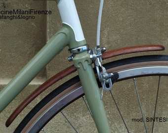 Bicycle Wooden mudguards - Fenders of wood