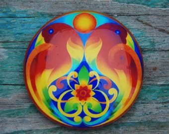 The Creativity mandala magnet
