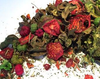 TOMATO & THYME POTPOURRI- Tomato scents - herbal potpourri - Tomato Leaf scented - Garden fresh scent