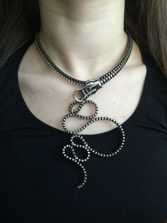 Large Octopus Loops Necklace