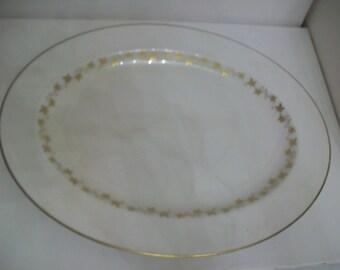 SALE 3 Pieces of Royal Doulton Tableware, Citadel, T.C. 1003, gold leaf design