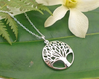 Tree of Life Necklace, Sterling Silver Tree of Live Necklace - Family, Tree Necklace, Tree of Life, 925 silver, Mother, most popular