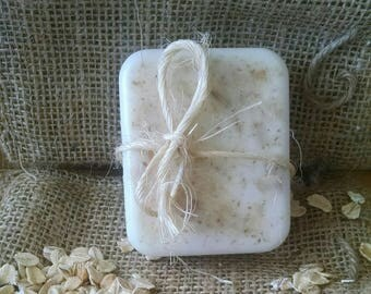 All Natural Goat Milk Soap Oatmeal and Honey