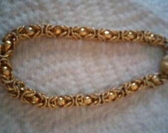Vintage Byzantine Chain Bracelet