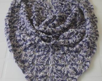 Crochet Shawl. Ready to Ship.