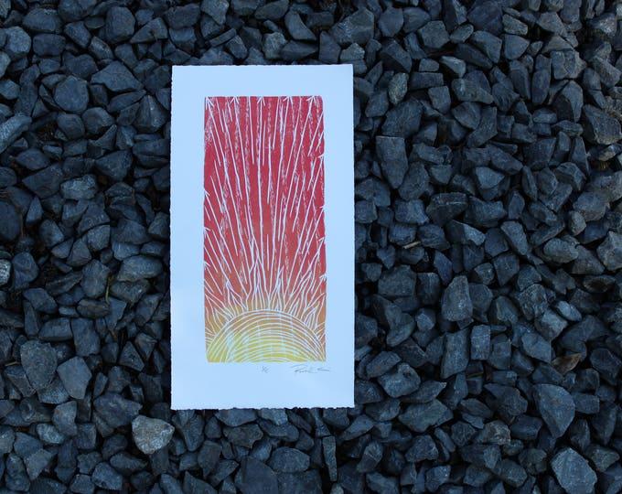 Rising Sun Small Print