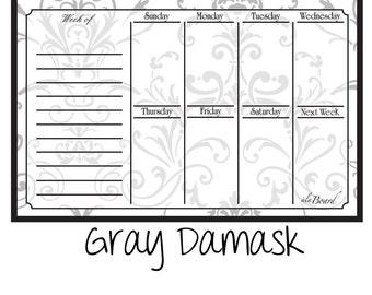 Large Weekly Calendar