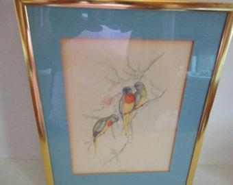 Gould Print - Framed