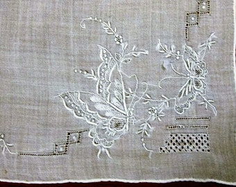 Vintage Fine Linen Hankie