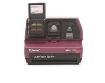 Polaroid 600 Impulse AF (AutoFocus) Instant Camera - PURPLE