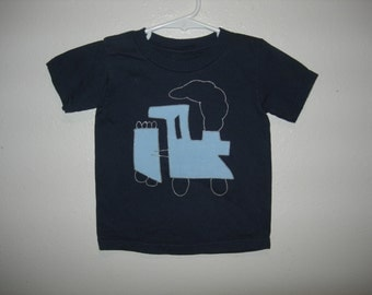 Train T-Shirt, 2T, Organic Cotton