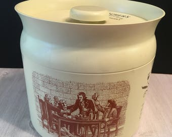 Vintage Teacher's Scotch Whisky Ice Bucket