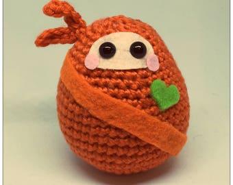Chibi Dumpling Ninja Plush Crochet Toy