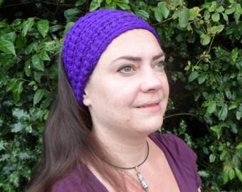 Inca Headband Knitting Pattern : Knitting Pattern: Ganache Hat and Plaid Ganache Hat from TolerablyRockyFarm o...