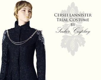 Cersei Lannister -Season six - Black Dress