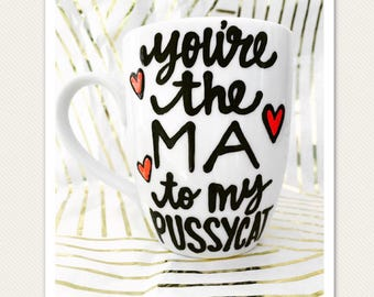 Golden Girls Ma to Pussycat - You're the Sophia to My Dorothy | Mother's Day gift to mom from daughter | Mother Daughter | Golden Girls Mugs
