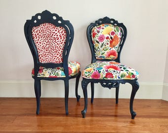 Customizable Victorian Chairs