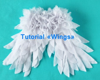 PDF Wings,Digital Download instructions+pattern,Soft Doll PATTERN. Cloth Doll Pattern, Digital Download instructions+pattern.