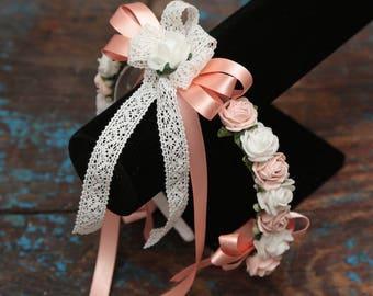 Flowergirl headband