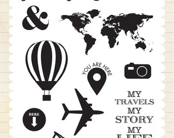 Carta Bella Designer Stamps - Journey Together
