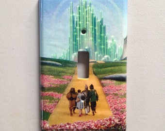 The Wizard of Oz - light switch cover plate