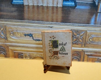 Book of Shadows Miniature Book 1:12 scale for Dollhouses
