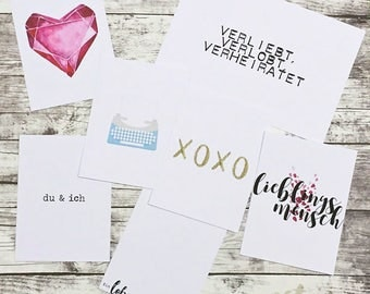 007 - with love - card set