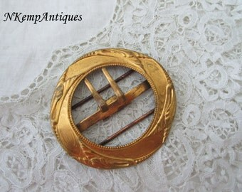 Antique french buckle 1910