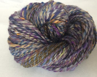 SALE: Ice Storm Wool/Angora/Sparkle/Bamboo blend, approx. 155 yds