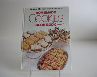 Vintage BH&G Homemade Cookies cookbook, Better Homes and Gardens recipes 1985 edition  hardback
