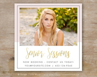 Senior Photography Marketing Template, Senior Marketing Template, Senior Marketing Ad, Senior Photography Templates
