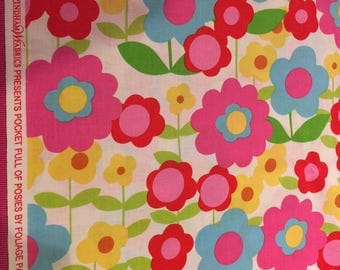 Pocket Full of Posies Fabric by Foliage Pattern No 33366 for Windam Fabrics Sold BTHY