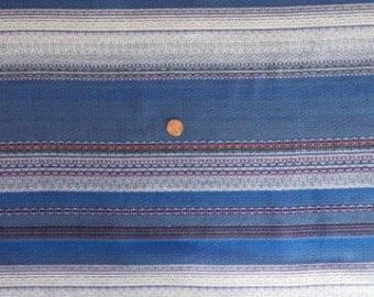 Blue Woven Stripe