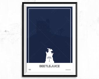 Beetlejuice - Movie Poster Print - House