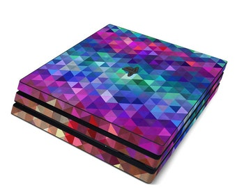 Sony PS4 Pro Skin Kit - Charmed by FP - Sticker Decal Wrap