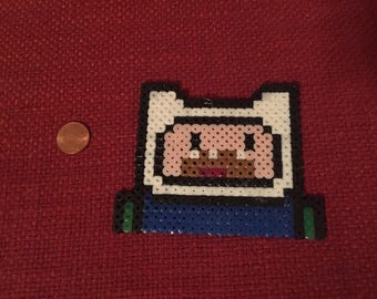 Finn The Human Perler Bead Charm!