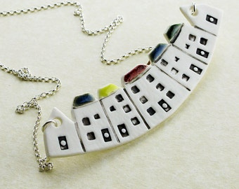 Scottish Tenement House Necklace