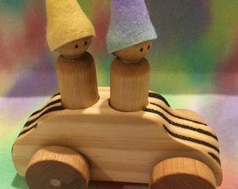 Two Gnomes Car