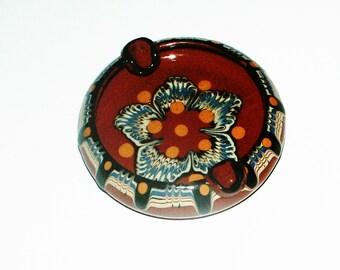 Ashtray Bulgarian pottery/Terracotta traditional ashtray