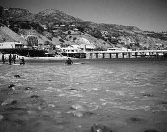 Malibu Beach - Surfers