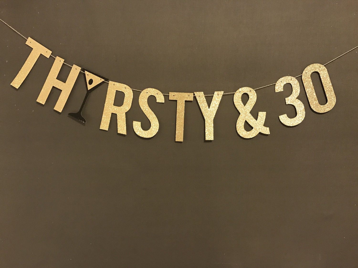30th birthday party banner thirsty 30 banner 30th for 30 birthday decoration
