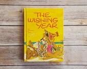 Teen Romance Novel • The Wishing Year • Beach Romance • 1960s Literary Fiction • Yellow Hardcover Book • High School Popularity Fiction Book