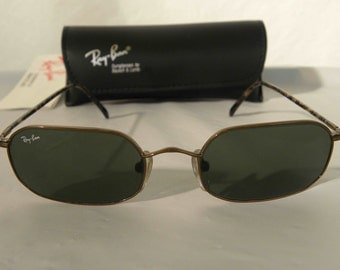 New Vintage B&L Ray Ban Classic Collection Octagon Brown G-15 W2648 Sunglasses usa