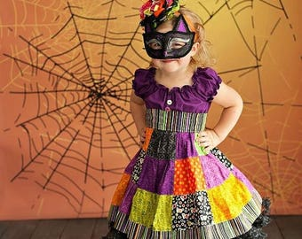 5ft x 5ft Halloween Backdrop - Spider Web Photo Background - Holiday Back Drop - Item 2142