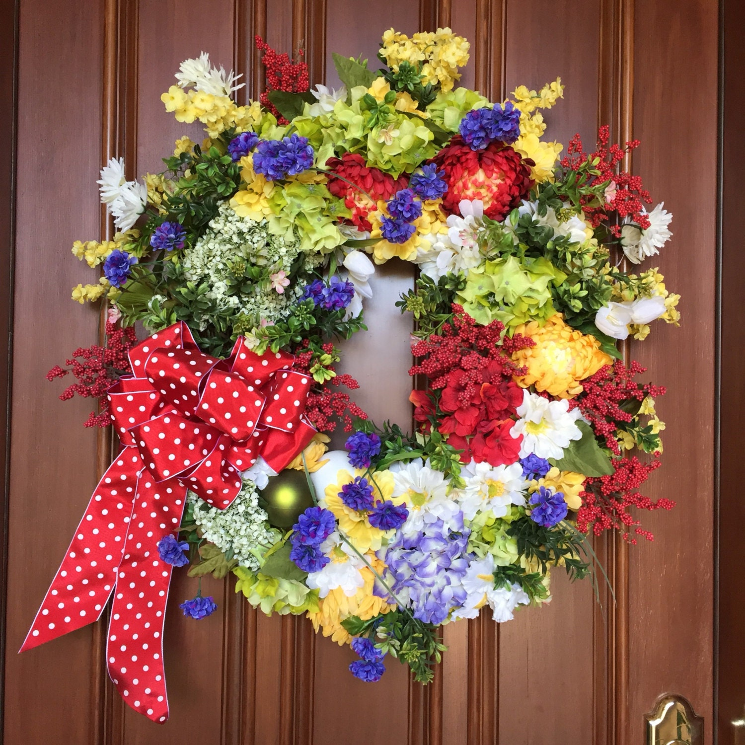 Reserved Wreaths For Front Door Spring Wreath Spring
