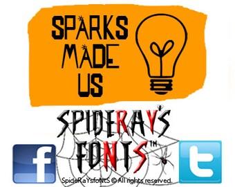 SPARKS MADE US Commercial Font