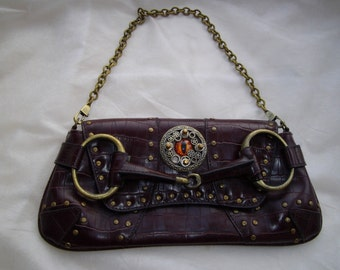 Steampunk bag, evening bag, purse, clutch