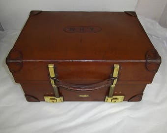 Revelation extendable case, 1950's Large Gladstone bag, doctors bag, 1930's,1940's luggage,Steampunk bag, suitcase