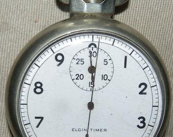 Elgin Timer pocket watch, start, stop and return